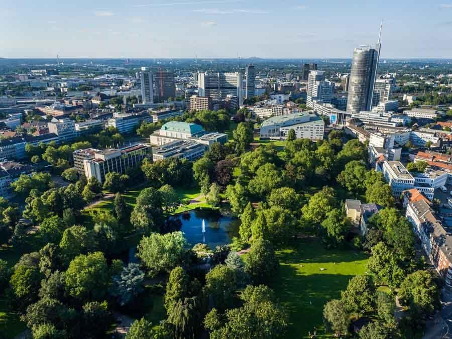 Essen Città più verde d'Europa