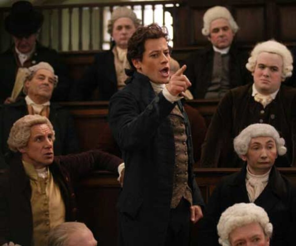 William Wilberforce in Amazing Grace