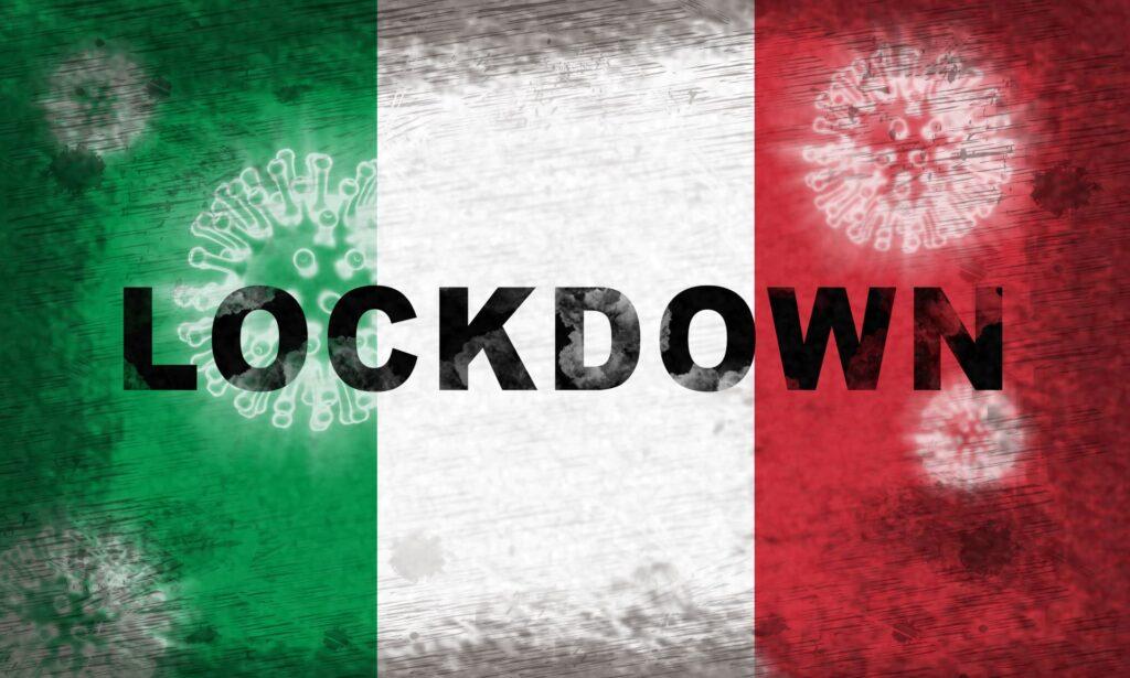 Sentimento pro lockdown in Italia per il Covid 19