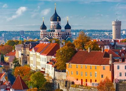 Foto di Tallinn, la capitale dell'Estonia
