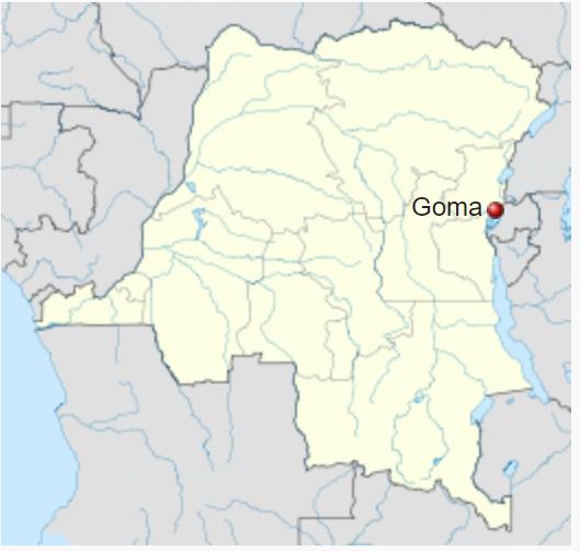 Goma, dove è stato ucciso l'ambasciatore italiano in Congo, Luca Attanasio, insieme con la sua scorta