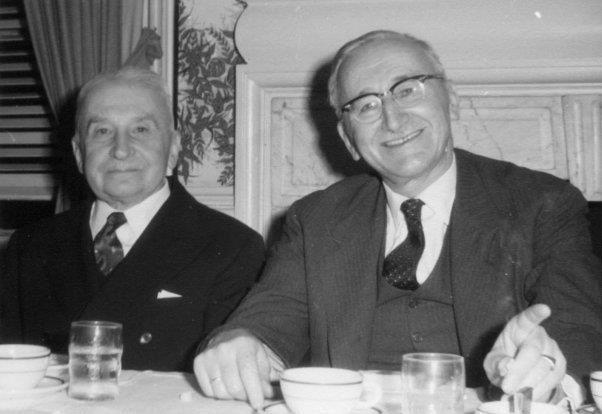 Ludwig Mises e Friedrich Hayek della Scuola Austriaca
