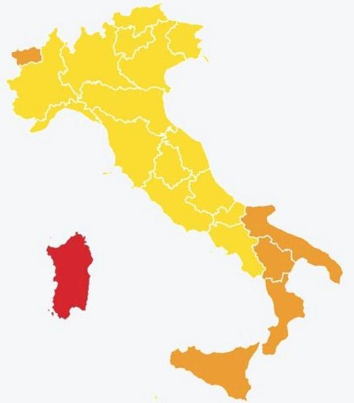 Italia in Zona Gialla con il nuovo Decreto Riaperture