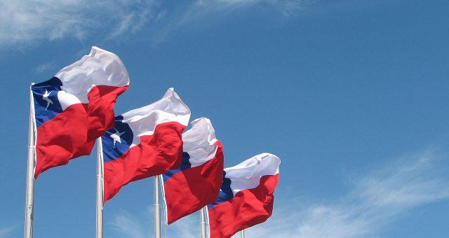 Bandiera del Cile - Libertà in Testa