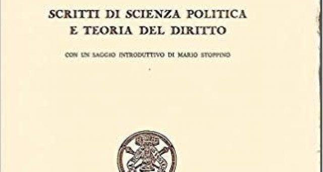 """""""Scritti di scienza politica e teoria del diritto"""" di Bruno Leoni"""