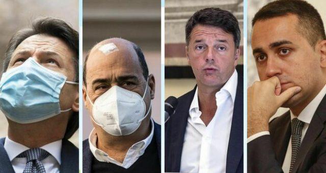 Renzi apre la Crisi di Governo con una conferenza stampa contro Conte