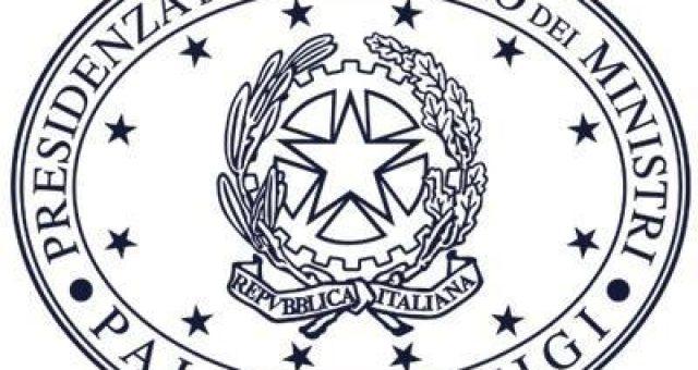 La durata dei governi in italia - logo della presidenza del consiglio dei ministri