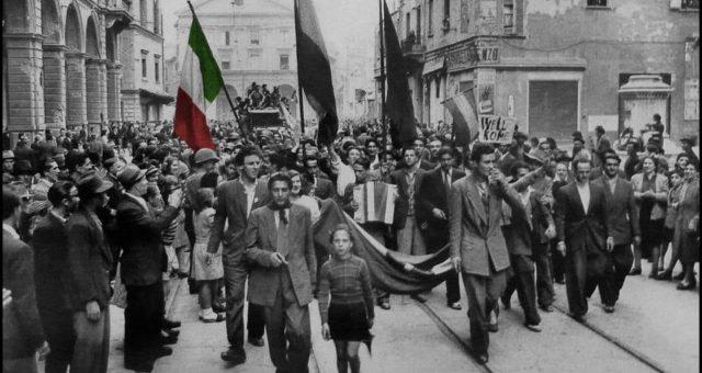 L'anniversario della liberazione, il 25 aprile